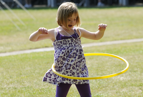 Variety Girl with Hula Hoop